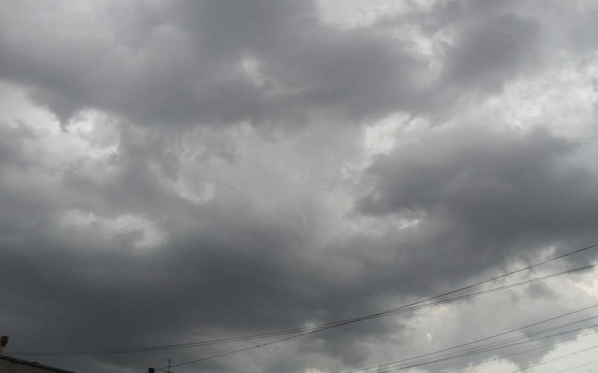 Azərbaycanda sabaha olan hava proqnozu açıqlanıb