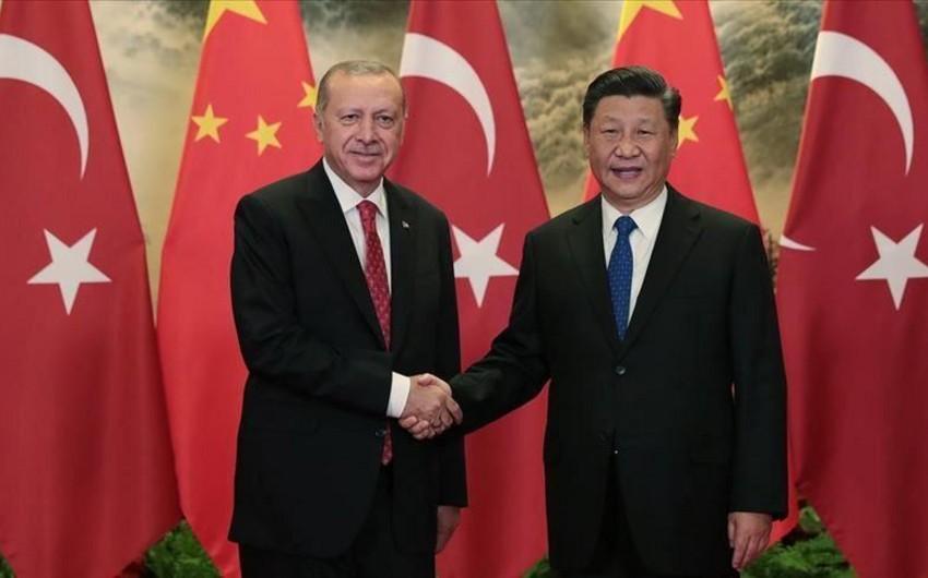 Ərdoğanla Çin lideri arasında telefon danışığı oldu