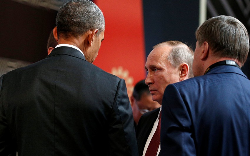 Peruda Vladimir Putin və Barak Obama arasında görüş olub