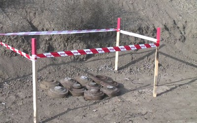 10 mines rendered harmless in liberated areas