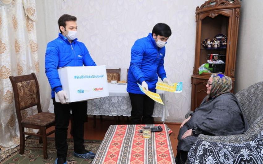 """""""Regional İnkişaf"""" İctimai Birliyi və """"Rahat"""" supermarket birgə sosial aksiya keçirib"""