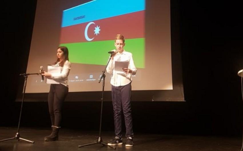 İsveçdə yaşayan Azərbaycan diasporu beynəlxalq ana dili gününü qeyd edib