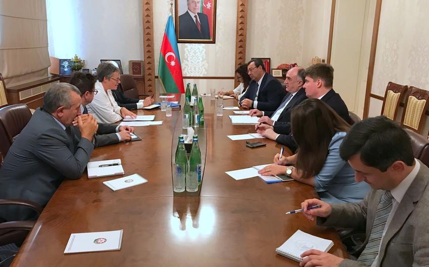 Э.Мамедъяров встретился с президентом ПАСЕ