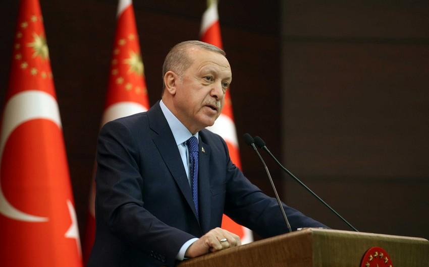 """Ərdoğan: """"Azərbaycan ərazi bütövlüyünü təmin edib"""""""