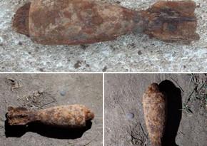 В Маштаги нашли минометный снаряд