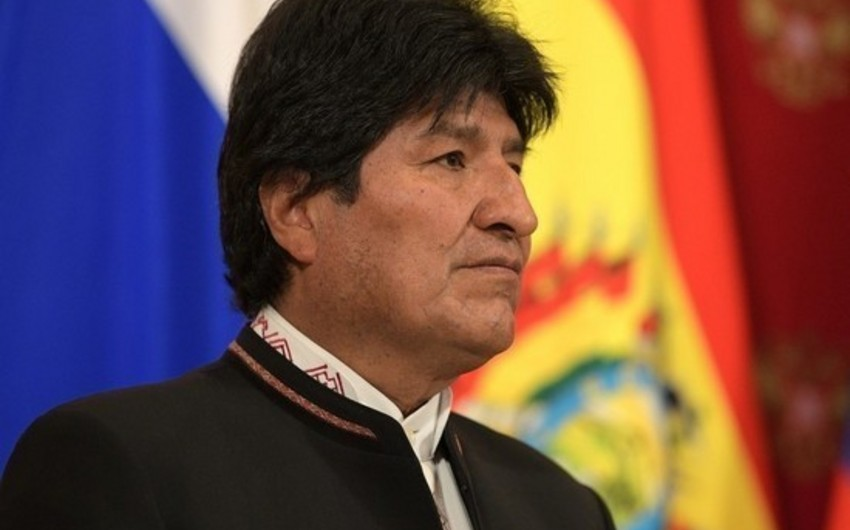 Morales landed in Paraguay