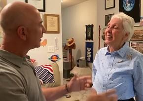 Cамый богатый человек выбрал 82-летнюю американку для полета в космос