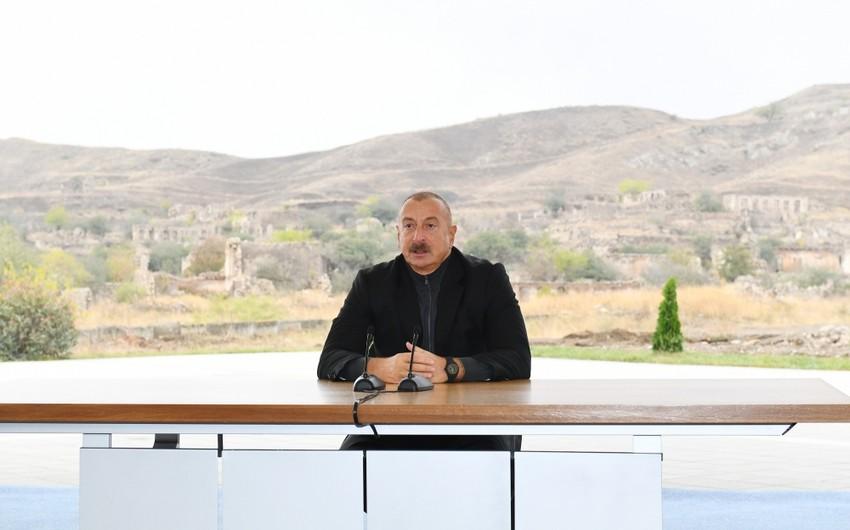 Dövlət başçısı: Bundan sonra da Azərbaycan öz xarici əlaqələrini və daxili işlərini bildiyi tərzdə planlaşdıracaq