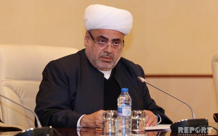 Шейх-уль-ислам Аллахшукюр Пашазаде примет участие в инаугурации Хасана Рухани