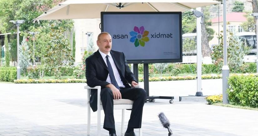 Dövlət başçısı: Azərbaycan dünyada fındıq ixrac edən ölkələr arasında üçüncü yerdədir