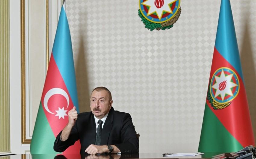 Ilham Aliyev: Our victories forced Armenia to return Aghdam, Lachin and Kalbajar politically