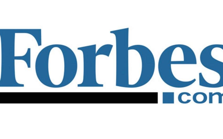 Forbes dünyanın 10 aparıcı neft-qaz şirkətini müəyyənləşdirib