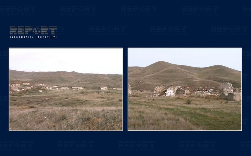 İşğaldan azad olunan Decal kəndinin görüntüləri