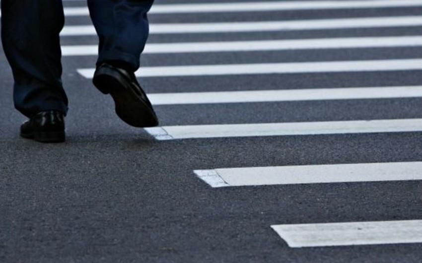 ДТП в Кюрдамире: сбит пешеход