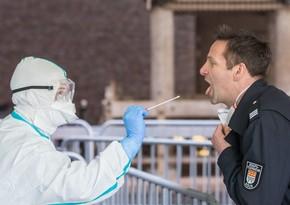 Almaniyada koronavirusa yoluxanların sayı 1 milyonu ötdü