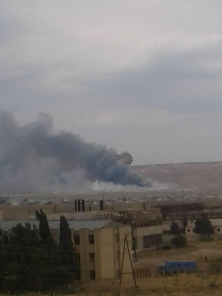 При взрыве на военном заводе в Азербайджане погибли два человека