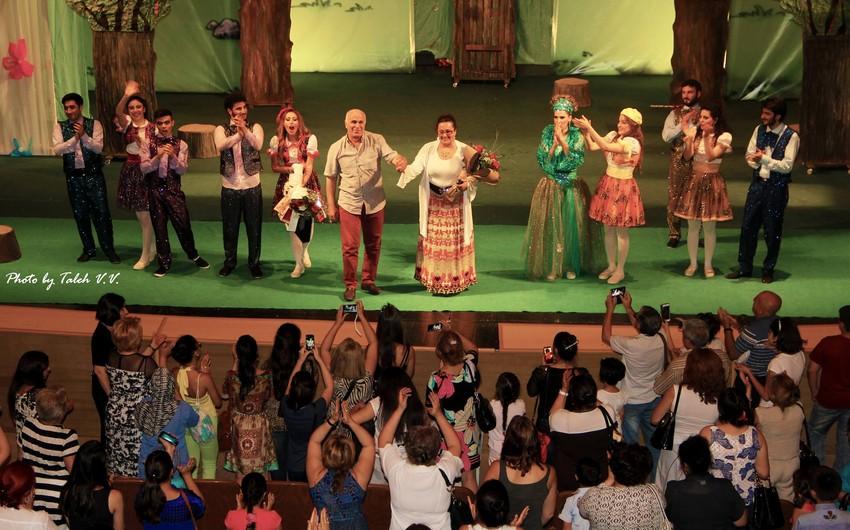 Akademik Milli Dram Teatrı mövsümə yeni tamaşanın premyerası ilə yekun vurub