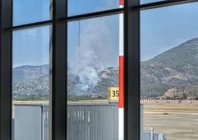 Пожар возле аэропорта Даламан полностью потушен - ОБНОВЛЕНО