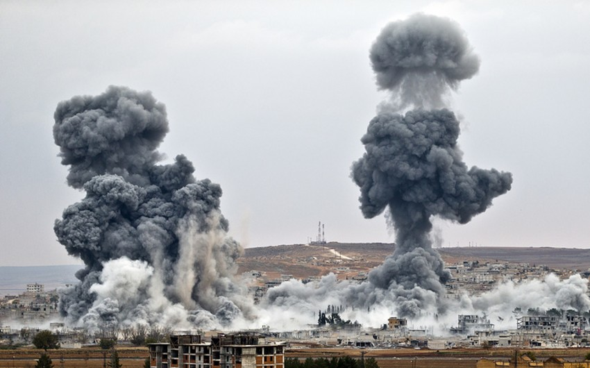 ABŞ HHQ-nin Suriyada müxalifət silahlılarına səhvən zərbəsi endirməsi nəticəsində 10 nəfər ölüb