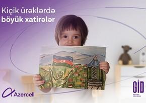 Azercell Uşaqların Beynəlxalq Müdafiəsi günü münasibəti ilə sosial layihə keçirib