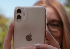 """""""Apple"""" """"iPhone"""" istehsalı planını 20%-dən çox azaldır"""