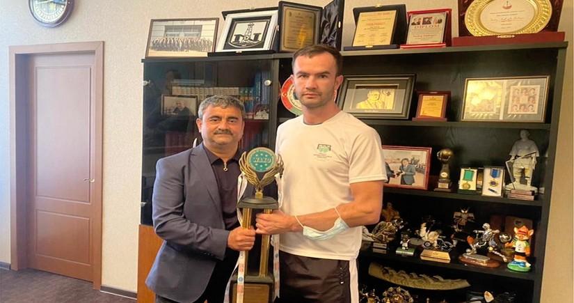 Азербайджанский кикбоксер стал победителем международного турнира