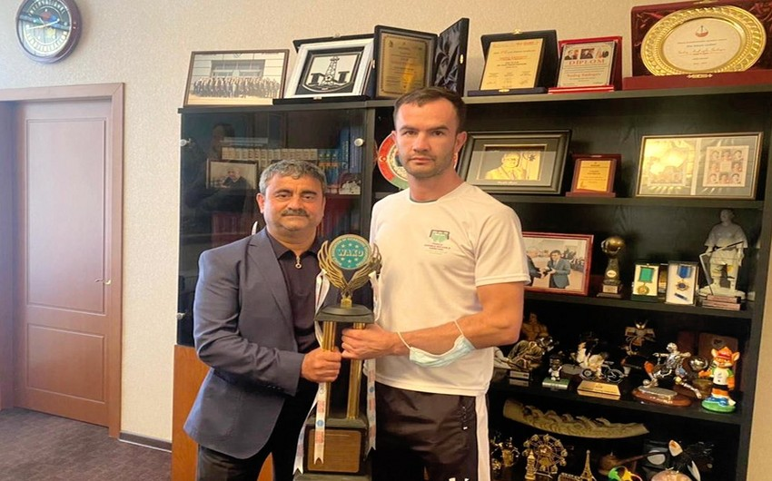 Azərbaycan kikboksçusu beynəlxalq turnirin qalibi olub
