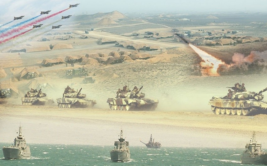 Azərbaycan Ordusunun genişmiqyaslı təlimləri başa çatıb
