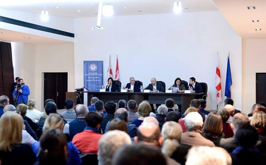 Gürcüstanın iqtisadiyyat naziri azərbaycanlılar yaşayan bölgənin inkişafı üzrə əsas prioritetləri açıqlayıb