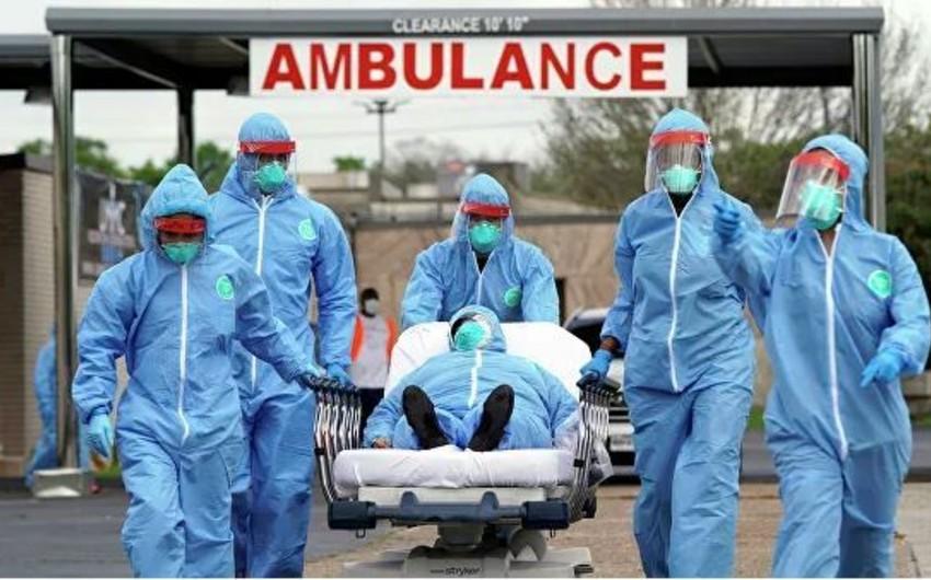 ABŞ-da koronavirusa yoluxanların sayı 60 min nəfəri ötdü