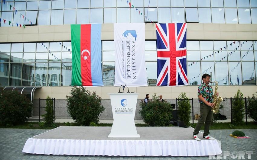 Azərbaycan-Britaniya Kollecində yeni tədris ili açıq elan edilib