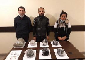 İrandan Azərbaycana 55 kq narkotik gətirilməsinin qarşısı alınıb