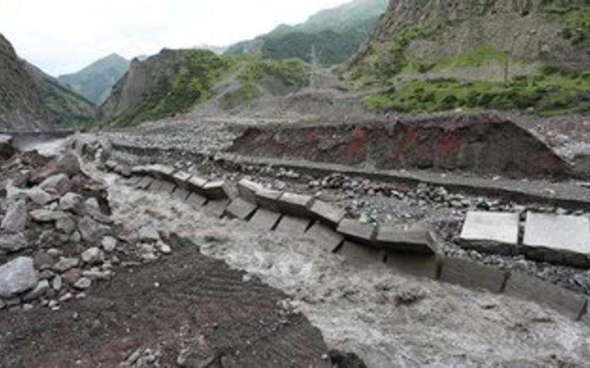 Dolu və leysan yağışları Gürcüstana ciddi ziyan vurub