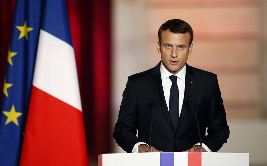 Emmanuel Makron: Fransadan qanunsuz miqrantların deportasiyası proseduru asanlaşdırılacaq