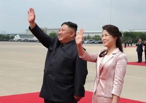Жена Ким Чен Ына впервые за год появилась на публике