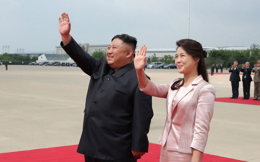 Kim Jong Un's wife makes first public appearance in over a year
