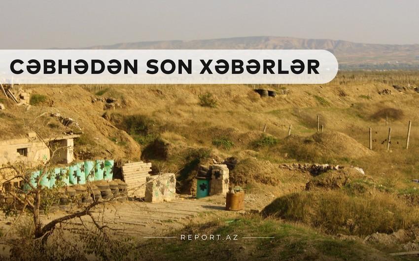 Cəbhədən son xəbərlər: Ordumuz daha 7 kəndi işğaldan azad etdi