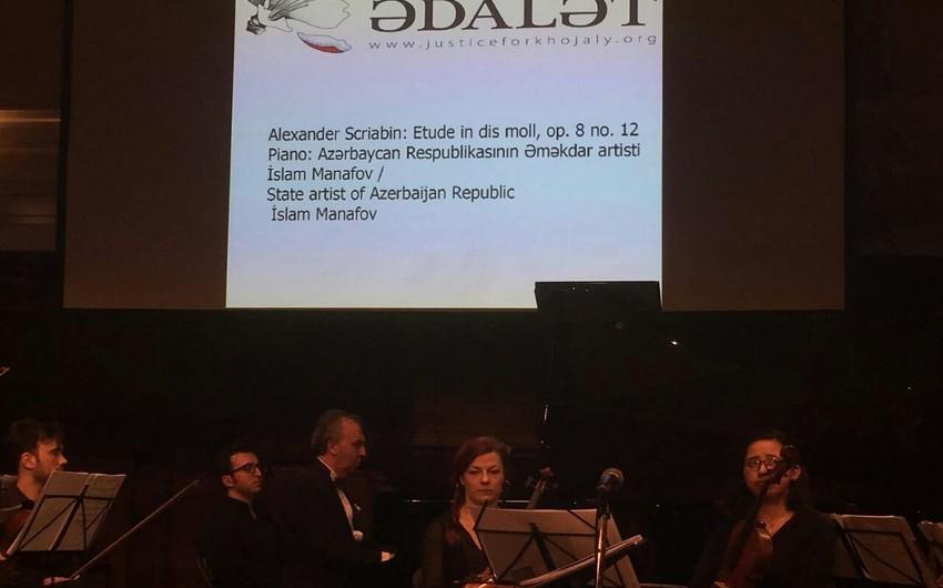 Niderlandda Xocalı soyqırımının 26-cı ildönümü ilə əlaqədar konsert-rekviyem keçirilib