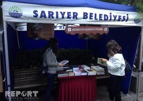 İstanbuldakı Heydər Əliyev Parkında kitab sərgisi açılıb - FOTO