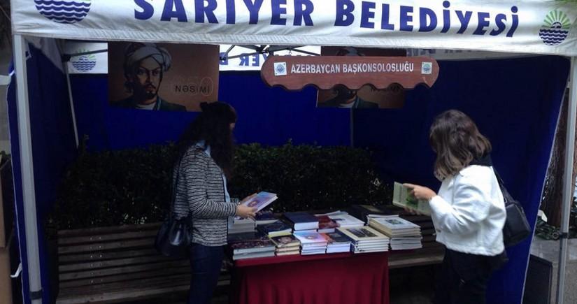 В Стамбуле в парке Гейдара Алиева открылась книжная выставка - ФОТО