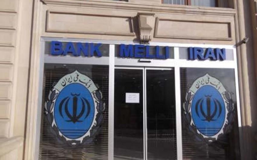 Bank Melli İran-Bakunun 3 bağlanmış bankda 12 mln. manatdan çox depoziti qalıb