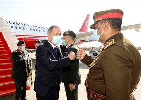 Turkish Defense Minister and Chief of General Staff visiting Iraq