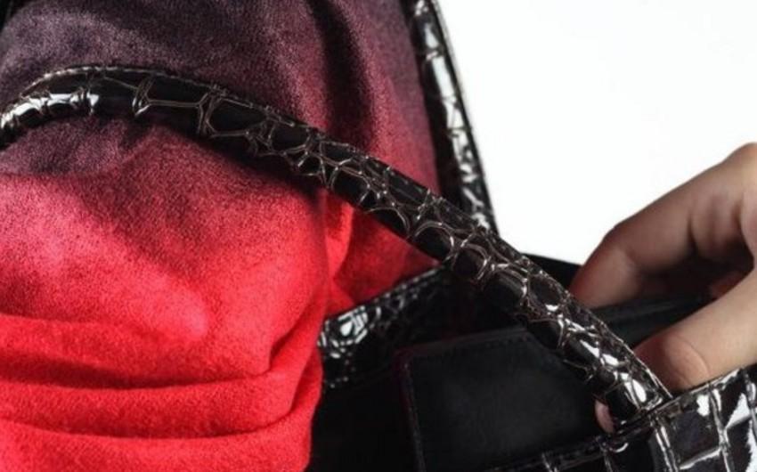 Bakıda 12 qadının çantasından oğurluq edən keçmiş məhkum saxlanılıb