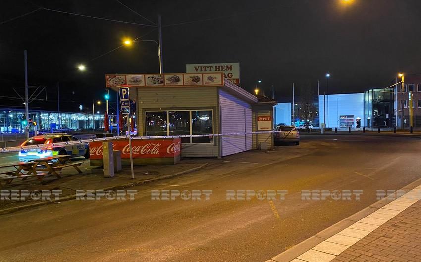 Vitt Hem-Qarabağ restaurant set on fire in Sweden
