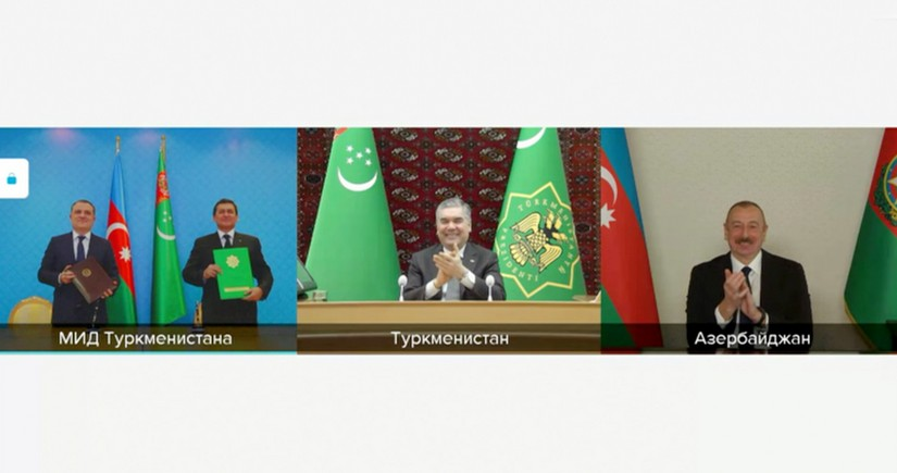 Azerbaijan, Turkmenistan sign memorandum on joint development of Dostlug field