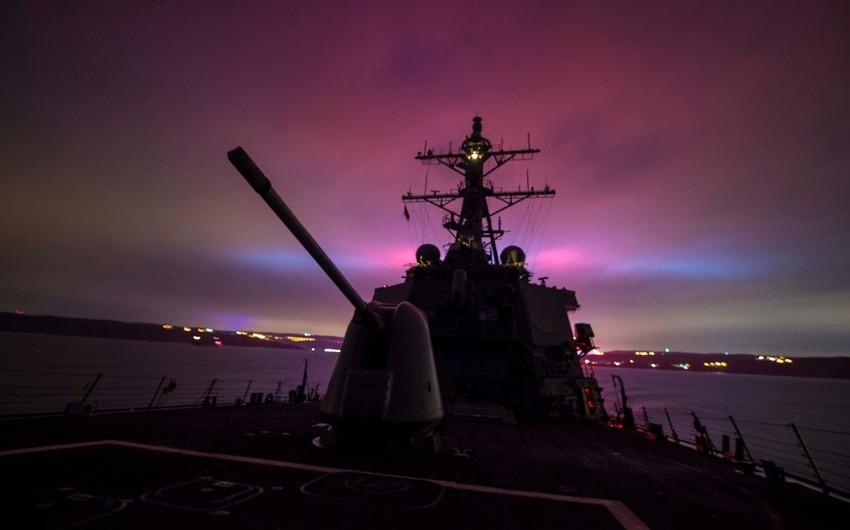 Amerikanın iki eskadra mina gəmisi Qara dənizə daxil olub