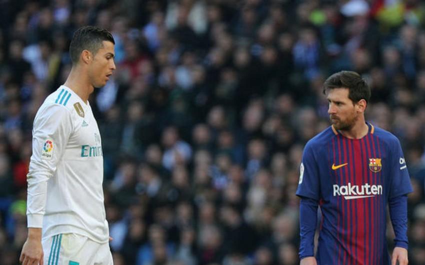 Messi mövsümün futbolçusu seçimində birinci yeri tutub