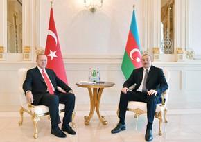 Prezident İlham Əliyev türkiyəli həmkarına məktub göndərib