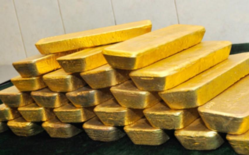 Rusiyada qızıl istehsalı artıb