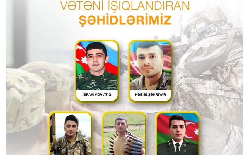 """Vətən müharibəsində şəhid olan """"Azərişıq"""" əməkdaşlarının adları məlum olub"""